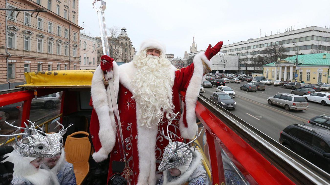 Едем на новый год по россии