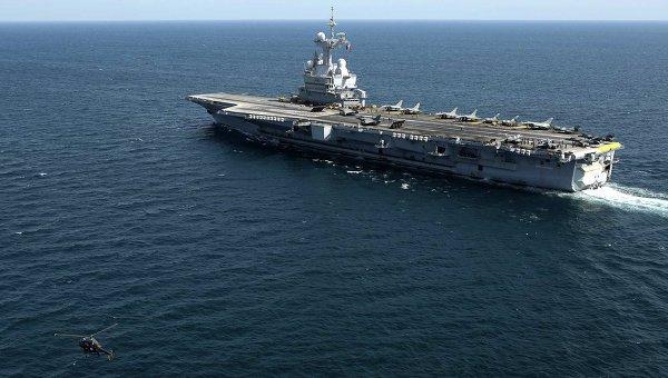 Франция направит для борьбы с ИГ группу кораблей во главе с авианосцем (Влад-Днепр)