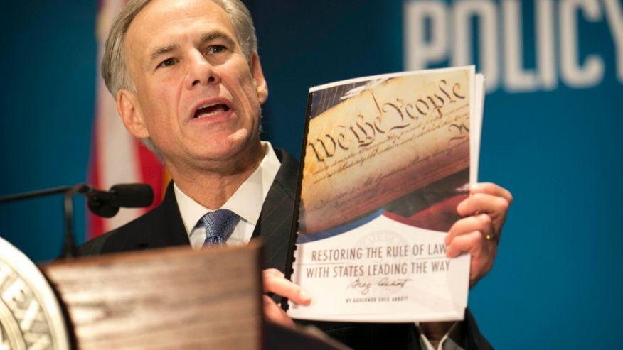 Губернатор Техаса опубликовал 9 тезисов конституционной реформы (Podvalny)