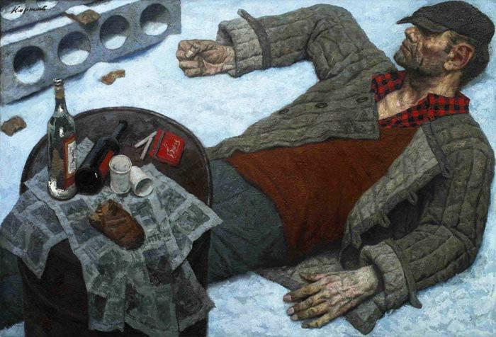 Выставка русского реалиста Гелия Коржева открылась в Третьяковке (yalga)