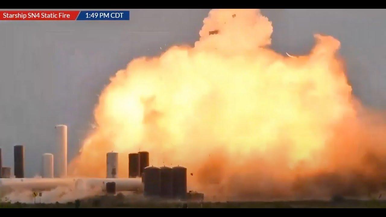 США: Уже третий подряд Starship разорвало на старте, как гнилую грелку (stil)