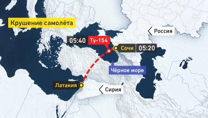 Катастрофа с самолетом возле Сочи, на борту были музыканты ансамбля им. Александрова (EugenP)