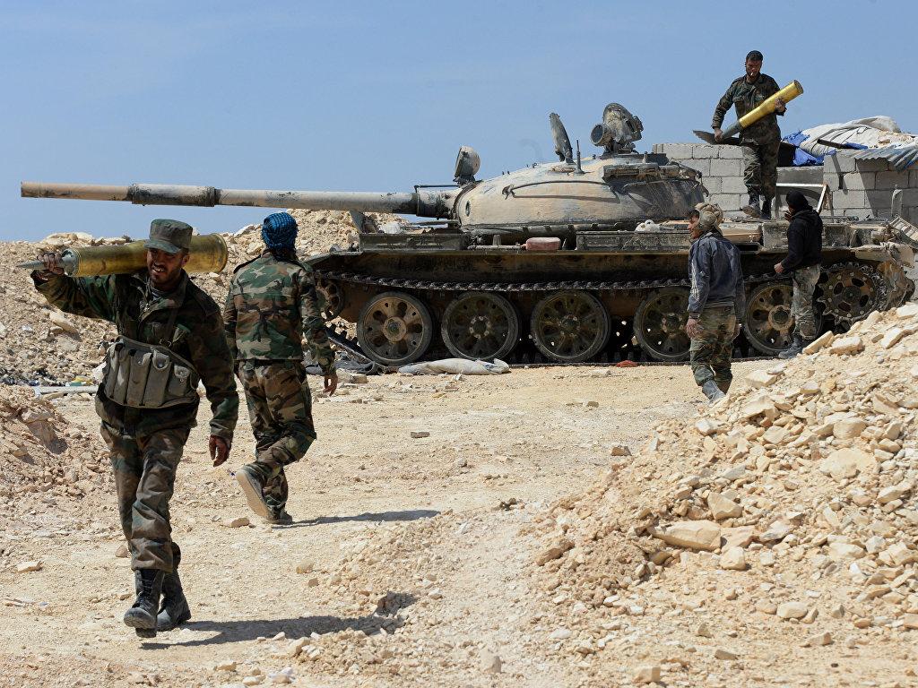 Армия Сирии впервые с 2014 года пробилась на территорию провинции Ракка (BRICS)