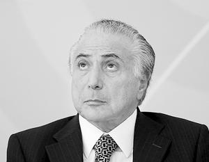 WikiLeaks назвала и.о. президента Бразилии осведомителем разведки США (BRICS)