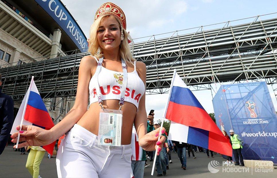 Порнозвезда Наталья Немчинова объяснила, почему ее лицо засветилось не только на ЧМ 2018