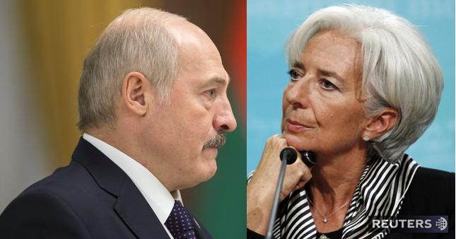 """Глава МВФ рекомендовала Лукашенко """"переориентировать политику"""" (кислая)"""
