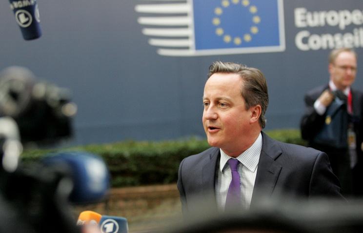 Кэмерон представил четыре требования Лондона на переговорах с Брюсселем (кислая)