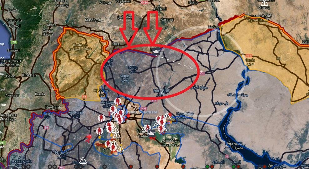 Вторжение Турции и США на север Сирии