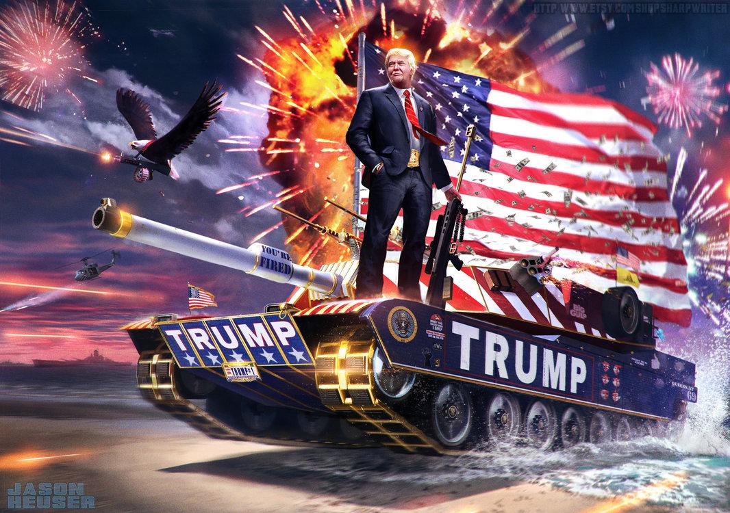 Война Трампа: Битва за Кавано (GORA)