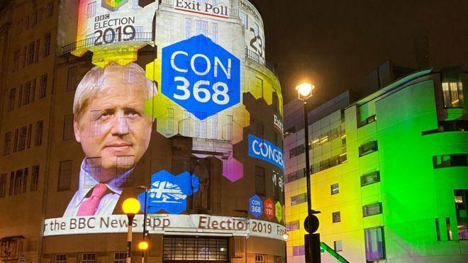 Выборы в Британии: партия Бориса Джонсона получает абсолютное большинство в парламенте. (Lumiminc)