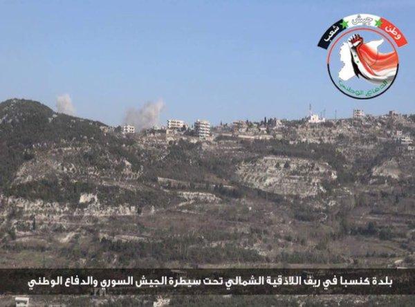 Военная обстановка в Сирии 18 февраля 2016, освобождена Кинсибба (обновлено-2) (Туфелька)