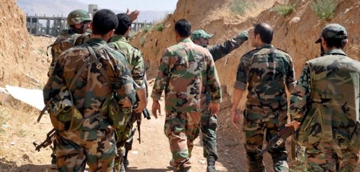 Сводка спецопераций Сирийской армии за 7 ноября (Туфелька)