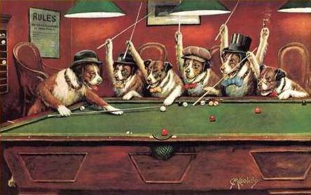 Большая геополитическая игра… в бильярд… дефектными шарами (Тояма Токанава)