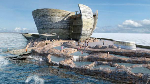Energy Matters:Приливные электростанции (ч. 1). Прогулки вокруг бухты Суонси. (Тояма Токанава)