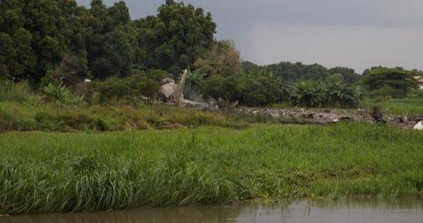 Грузовой самолет с российским(армянским) экипажем потерпел крушение в Южном Судане (sevik68)