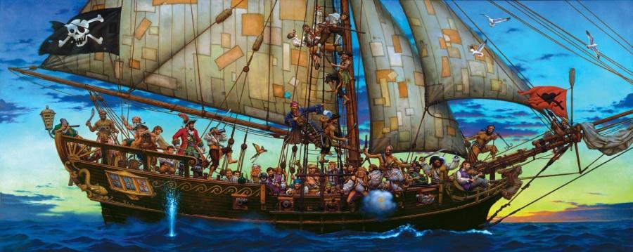 Пиратство с человеческим лицом (Олег Макаренко)