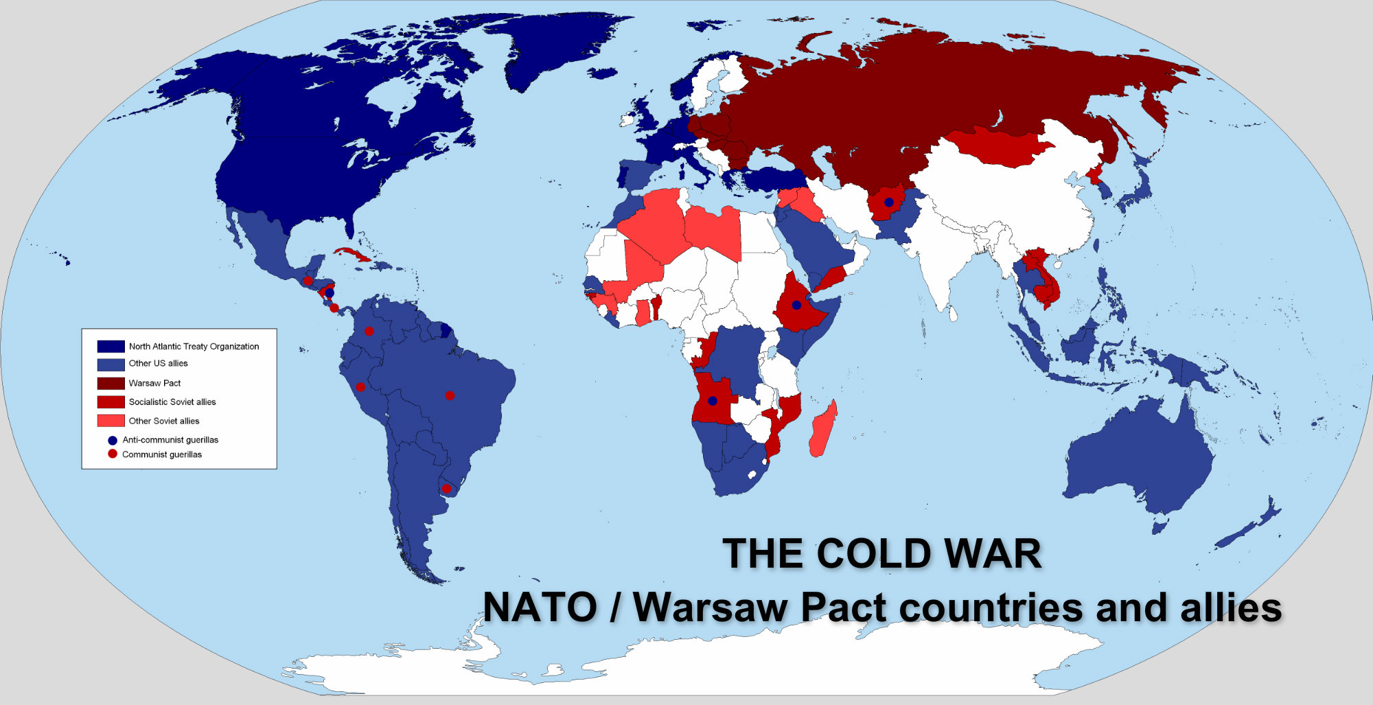 north american alliances during the cold war