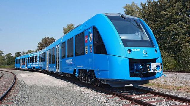 В Германии поезд на водородном топливе выполнил первый рейс (Postulat)