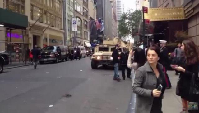 В Нью-Йорк вводят войска (Postulat)
