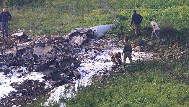 Израиль признал, что истребитель F-16 сбили сирийские ПВО (Postulat)