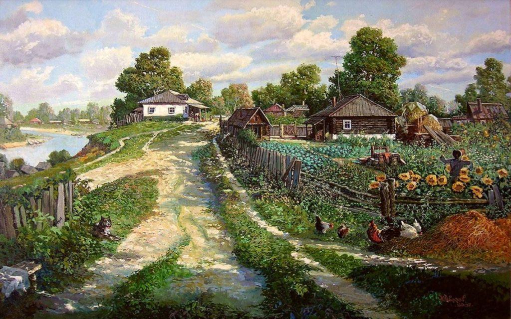 Из Москвы в деревню (Сергей Васильев)
