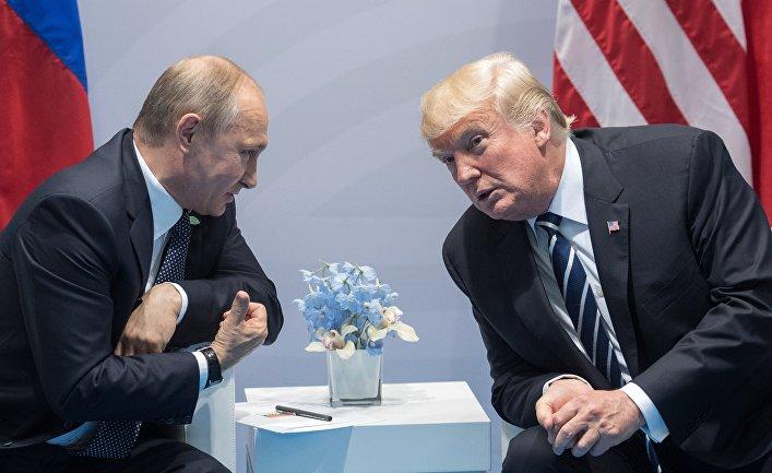 Трамп поведал миру то,  о чем бы он хотел переговорить с В. Путиным
