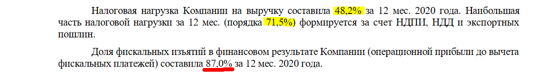 Налоги роснефти в 2021 году