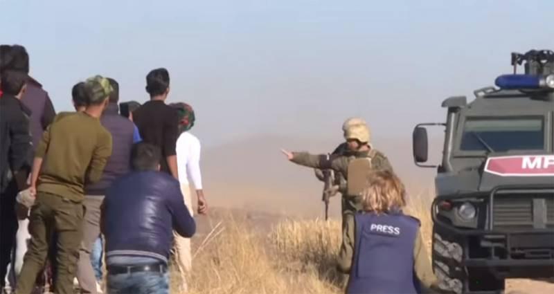 Камни курдов начали лететь избирательно (Видео) (Лыков Олег)