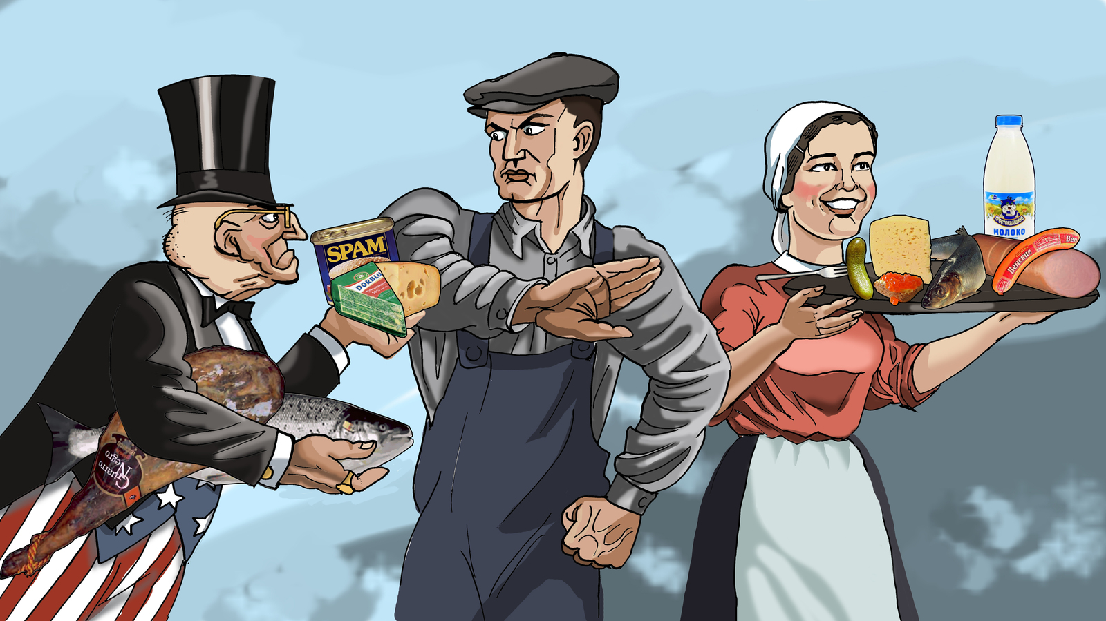 сша и санкции юмор картинки кавказе