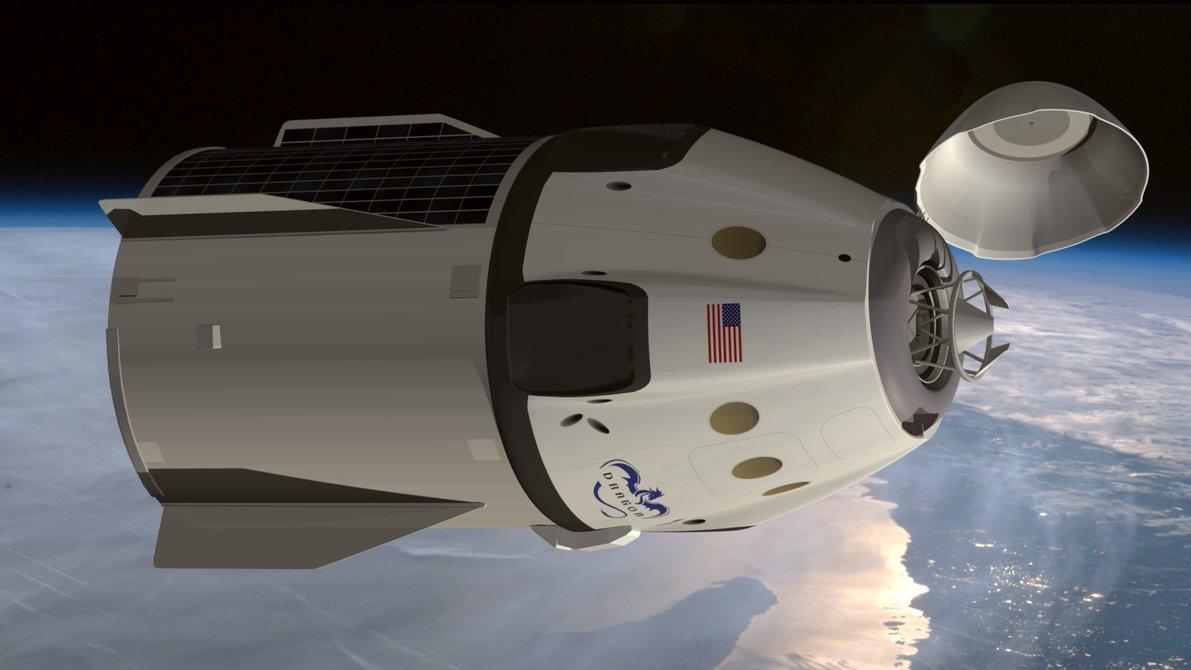 spacex dragon v2 - 1191×670