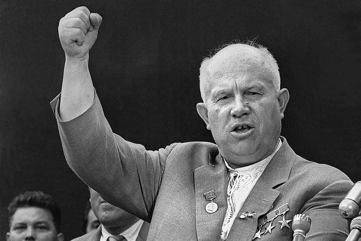 Хрущев, Первый секретарь ЦК КПСС. (Престарелый Neo)