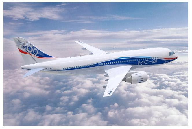 Россия заключила с Египтом соглашение на поставку 6 самолетов МС-21 (RUSLAND)