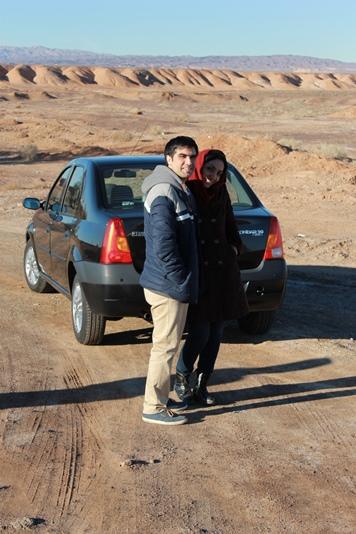 Пустыня. Машина. Иран.