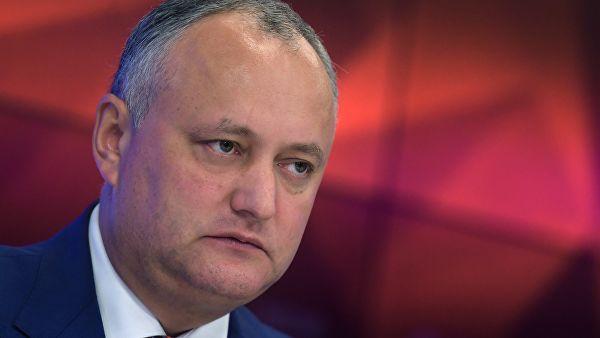 Молдавия: Додон аннулировал указ о роспуске парламента Молдавии (sgerr)