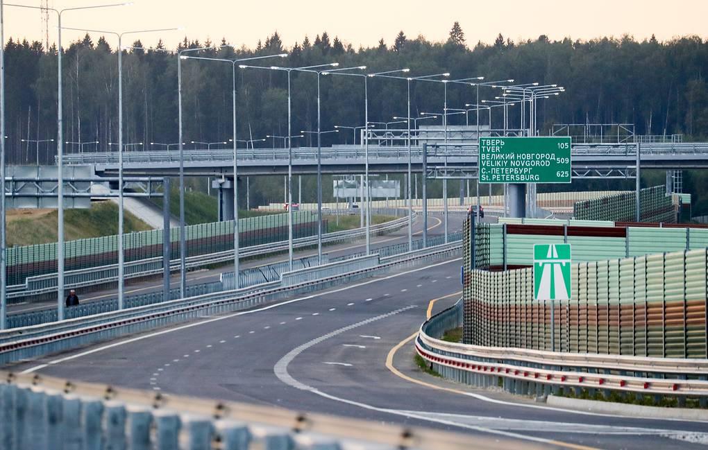 Как новая трасса Москва — Санкт-Петербург изменит российскую экономику (sgerr)