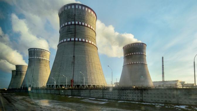 Третий энергоблок Ровенской АЭС на Украине отключен от сети на ремонт