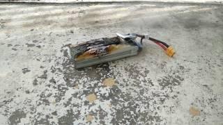 Электродрон сам несёт то что его уничтожит. Об условиях гарантированного поражения дронов с некоторыми типами химических источников тока. (ВладиславЛ)