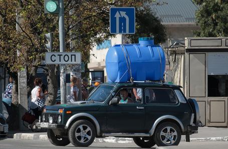 О дефиците воды в Крыму (Mike1975)