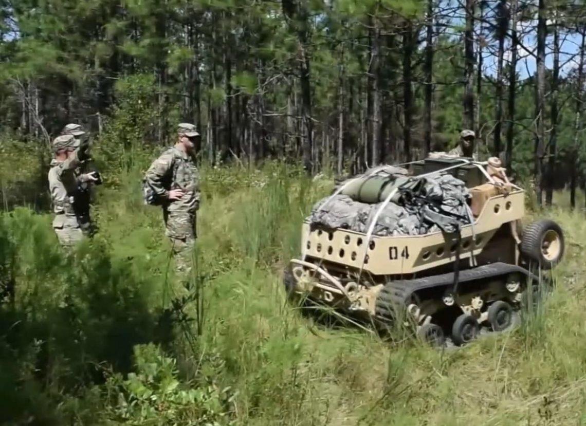 В состав армии США уже скоро войдут роботизированные ишаки (Bledso)