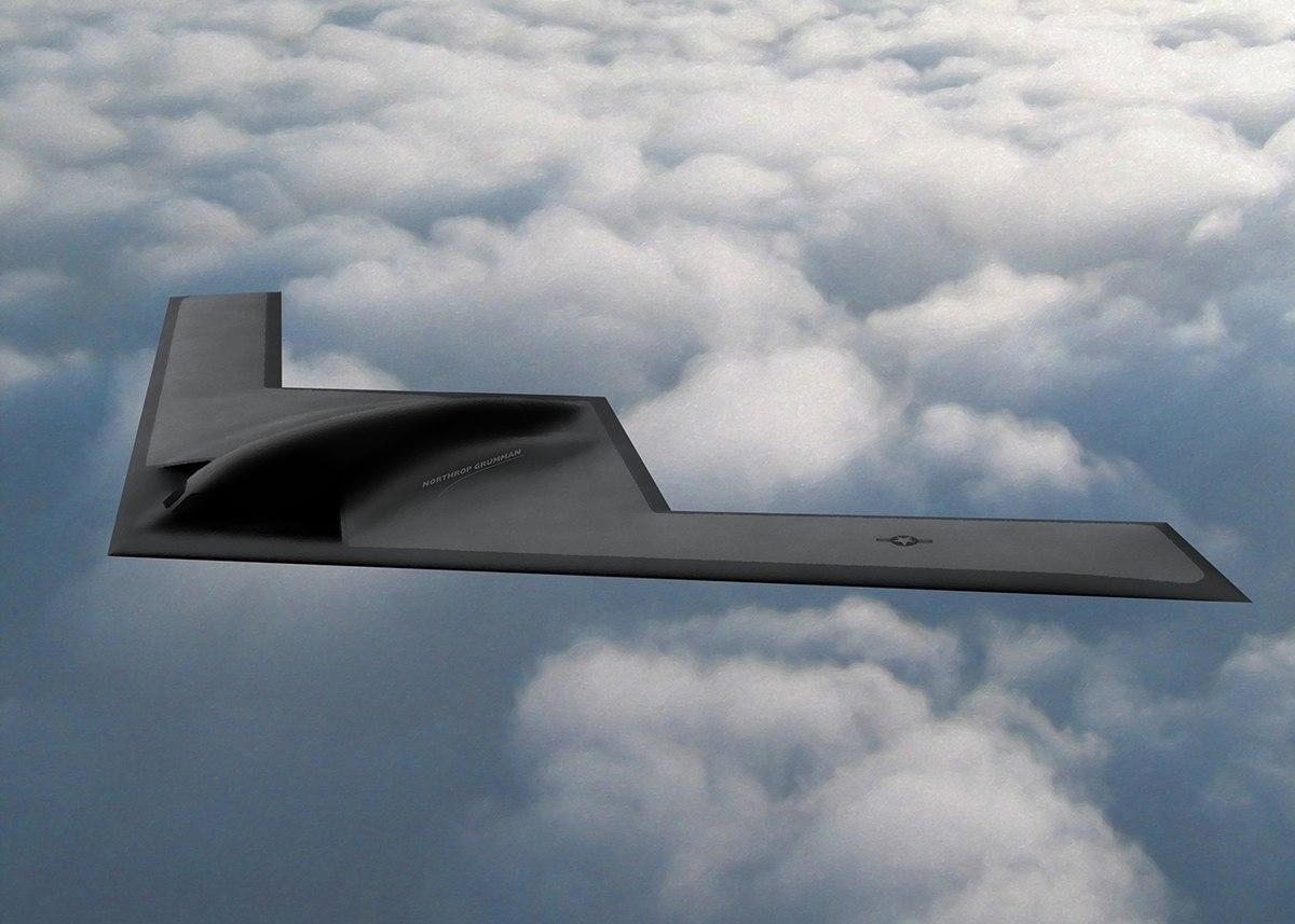 """Стратегический бомбардировщик B-21: """"О значит Оптимизм"""" (Bledso)"""