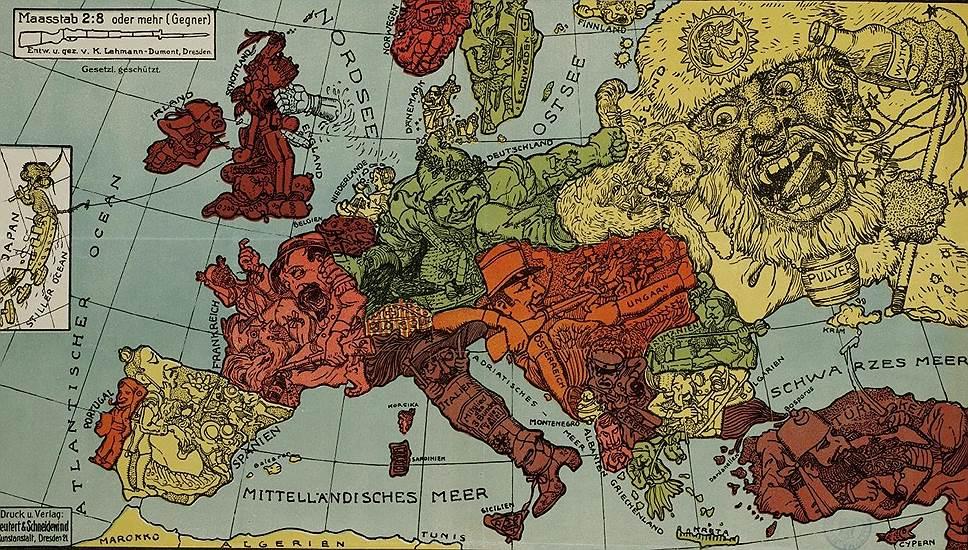 Национализм в Европе перед Первой мировой войной (Bledso)