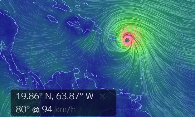 Первое знакомство с ураганом Ирма (живая трансляция) (alexsword)