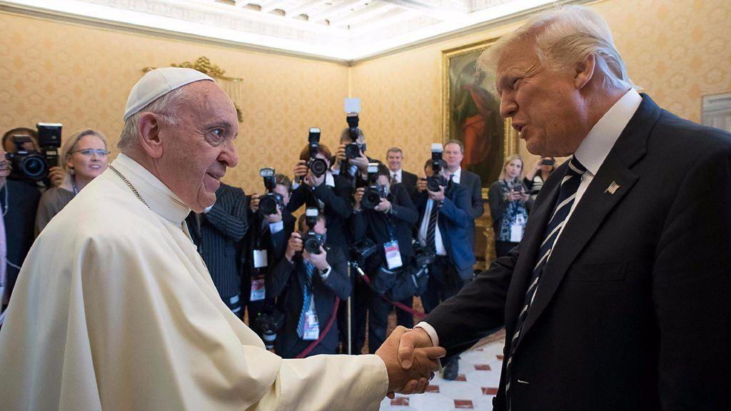 """Ватикан (!) обрушился с критикой на администрацию Трампа: """"Там гнездо манихейства, они взяли курс на Апокалипсис!"""" (alexsword)"""