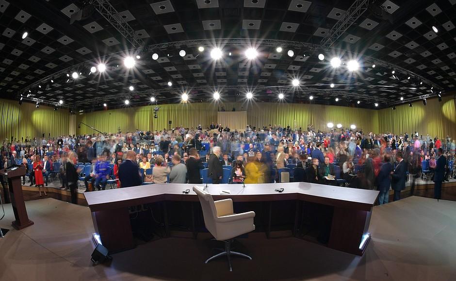 Большая пресс-конференция Путина (видео, основные моменты, стенограмма) (alexsword)