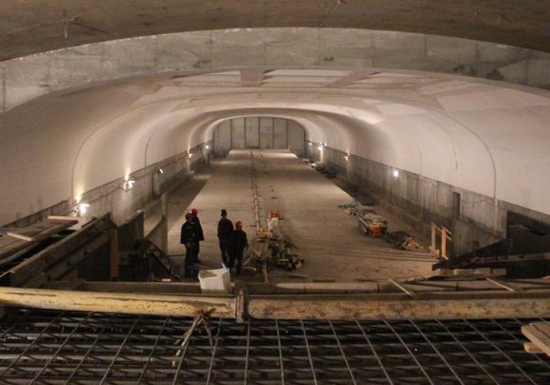 Новости метростроя в регионах: первую станцию метро в Омске засыпали песком (alexsword)