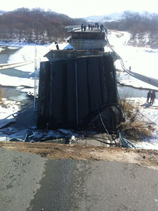 Обрушился мост, А-188 Владивосток-Находка (Greathand)