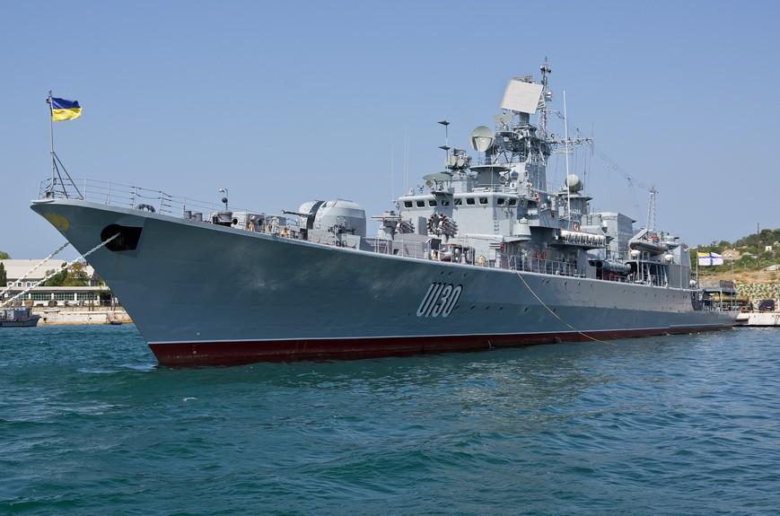 Страна 404: Флагман ВМС Украины вышел из строя почти сразу после ремонта (Райвен)